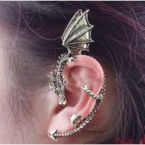 Aro Dragón - Solitario - Ear Cuff - Daenerys - Hp Got