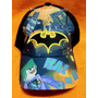 Gorras Infantiles C/visera Bordada Minions Monster Advengers