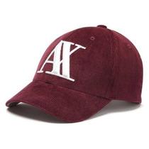 Gorra Armani Corderoy Baseball / Bajo Pedido_exkarg