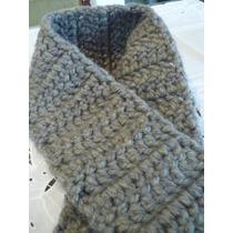 Bufanda Tejidal Al Crochet