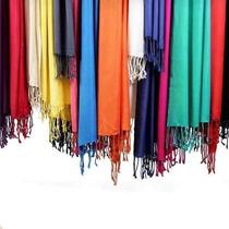 Lote 10 Pashmina Lisas Viscosa. Nuevos Colores.of Mayorista
