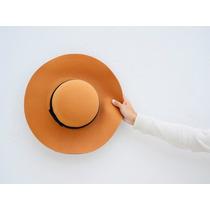 Sombrero Tipo Capelina Camel