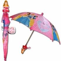 Paraguas Princesas Disney Original Importado Usa