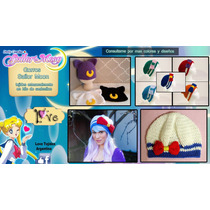 Tejidos A Crochet - Sailor Moon - Gorros