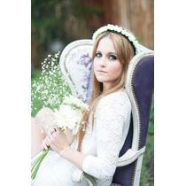 Vincha Cortejo Nenas Casamientos Corona Moda 2015 Rococó