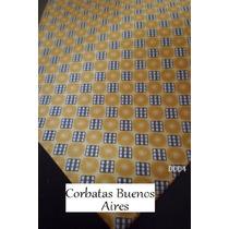 Corbata En Tonos Dorados - D004