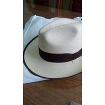 Panamá Hat Genuino Modelo Fedora Hombre-mujer Unisex