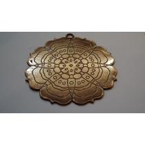 Medallon Zamak Mandala Para Bijouterie Baño Cobre Accesorios