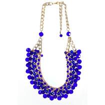 Collar Gargantilla Shiny Soul Blue Las Penélope