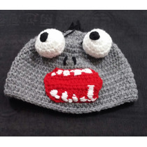 Gorro Lana Tejido Al Crochet - Plants Vs Zombies