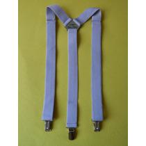 Tirador Pantalón Suspenders Pinza Madison Lila 3cm