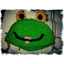Gorro Sapa Pepa Tejido Crochet
