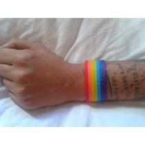 Pulseras Orgullo Gay Pack X10