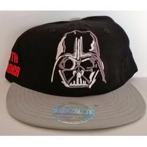 Darth Vader Gorra Visera Plana Snapback Reyes Regalos