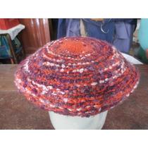 Boina De Lana Al Crochet