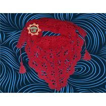 Chalina Artesanal Tejida A Crochet Para Niñas Y Mujeres