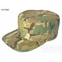 Gorra Tipo Militar Camuflado Negro