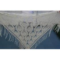 Chal Chalina Tejido Al Crochet Hilo Verano