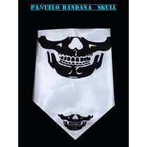 Pañuelo Calavera Skull Bandana, Motoqueros ,para Esquiar