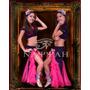 Pollera Show Para Niñas-danza Arabe -belly Dance-