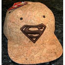 Gorra Superman Hombre De Acero D C Comics / Bajo Ped_exkarg