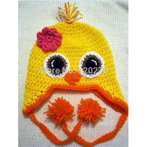 Gorros De Pollito Tejida A Crochet Y Otros Animales!!