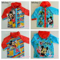 Piloto Para La Lluvia Mickey O Minnie Mouse Varios Modelos