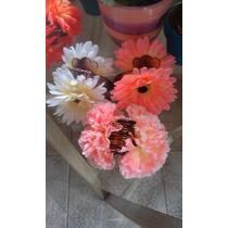 Ganchos Con Flores, Vinchas, Hebillas, Colitas