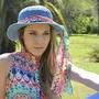 Sombreros Y Capelinas Para Damas Tejidos Al Crochet