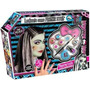 Monster High Lookeate Frankie Stein !! Peluca Maquillaje