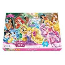 Puzzle 60 Pz Pets Princesas Xml Dpu07503