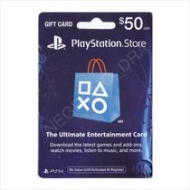 Código Tarjeta Psn Card 50 Usa Vía Email - Para Ps3 Ps4 Vita