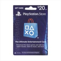 Tarjeta Psn Usa 20 Para Comprar Juegos Ps3, Ps4, Vita, Psp.