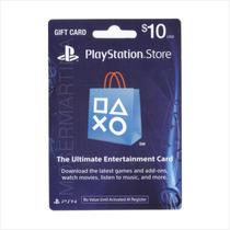 Tarjeta Psn Usa 10 Para Comprar Juegos Ps3, Ps4, Vita, Psp.