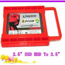 Adaptador Para Discos Ssd Bracket 2,5 A 3,5 Bahia Pc