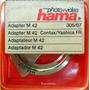 Aro Adaptador Hama (alemán) Contax/yashica Fr A M42