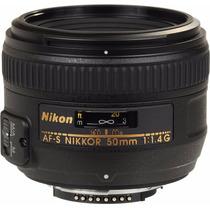 Lente Nikon 50 Mm F/1.4 G Af-s Dx