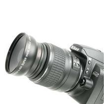 Lente Conversor Gran Angular Macro 52mm Canon Y Nikon Gtia