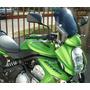 Parabrisas Motos Elevado Fumé Kawasaki Er6n Z 750 Motorbikes