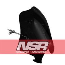 Parabrisa Airspeed Custom Farol Redondo Twister Ybr Nsr Moto