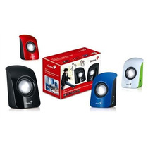Parlantes Genius Sp-u115. Usb. 1.5w. 3.5mm.