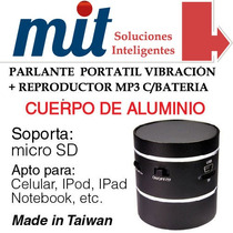 Parlante Mini Portatil C/microsd Y Bateria Netbook/notebook