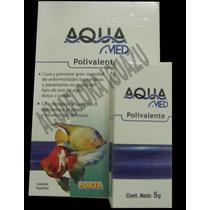 Polivalente Aqua Med- Lo Mejor Para Enfermedades Del Acuario