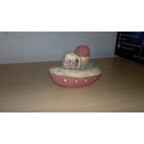 Barco De Ceramica Para Acuarios