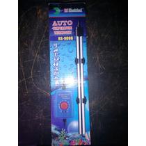Calefactor Para Acuario 300w. Inox. C/termostato Auto Y Ext.