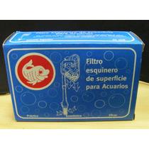 Filtro Esquinero De Superficie Ichtys Acuarios Hasta 40 L