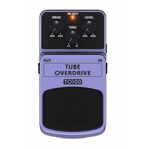 Behringer To100 Tube Overdrive Efecto Pedal Distorcion