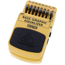 Pedal Behringer Beq700 Bass Graphic Equalizer Audiomasmusica