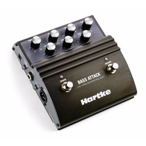Pedal Pre Amp Para Bajo Hartke Systems Vxl - Bass Attack