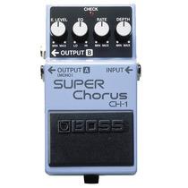 Pedal Super Chorus Boss Ch-1